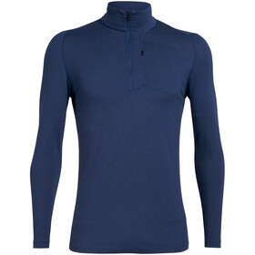Icebreaker Spring Ridge LS Half-Zip Top Men, estate blue